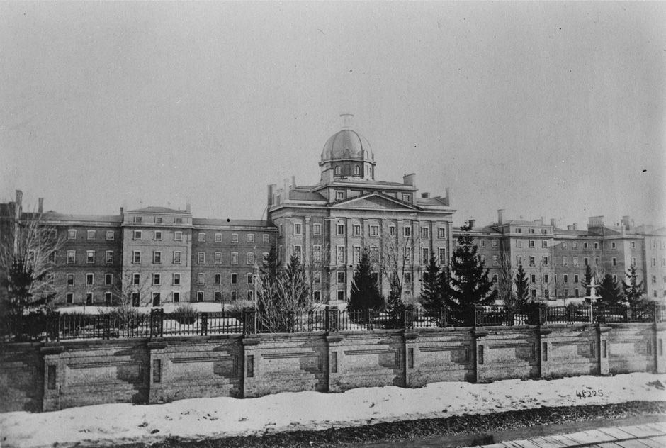 Photo of Provincial Lunatic Asylum